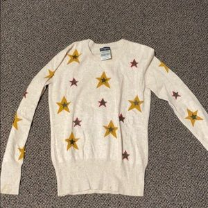 Star patterned Chanel sweater